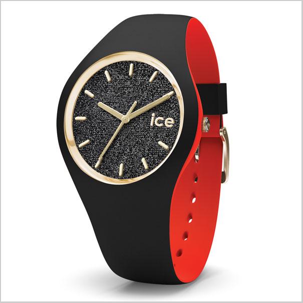 ICE WATCH 손목시계 ICE loulou 아이스 루우 루우 블랙/그릿타(스몰) 레이디스/여성용 아이스 워치 ICE WATCH 007227