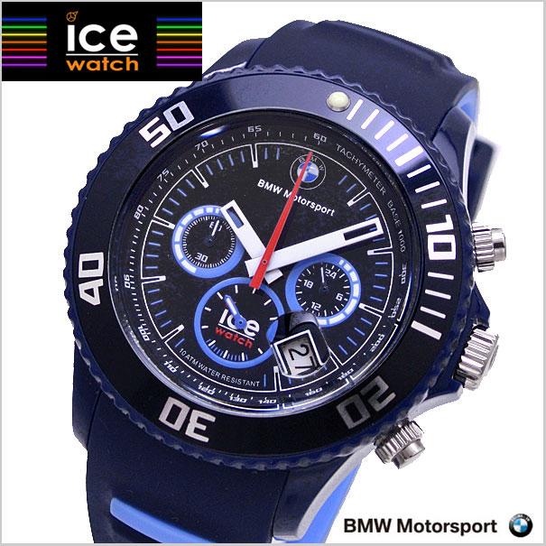ICE WATCH 시계 BMW Motorsport-Chrono 비 엠 아 모터 스포츠 크로 노 그래프/다크 & 라이트 블루 빅 아이스 워치 BM. CH. BLB.BS