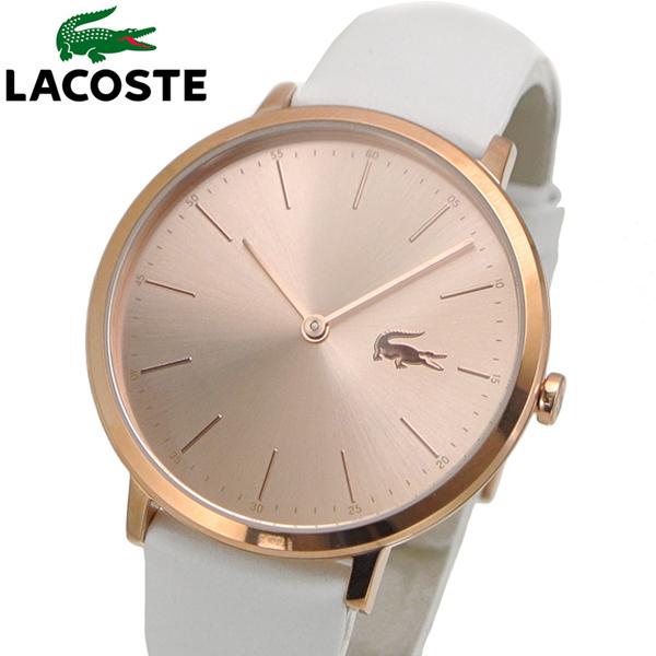 ラコステ LACOSTE 腕時計 レディース 36mm ローズゴールド文字盤 2000949
