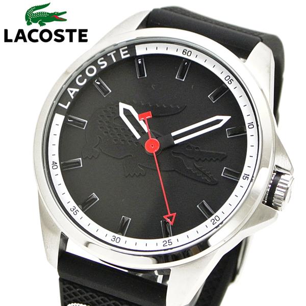 ラコステ LACOSTE 腕時計 メンズ 46mm ブラック 2010840