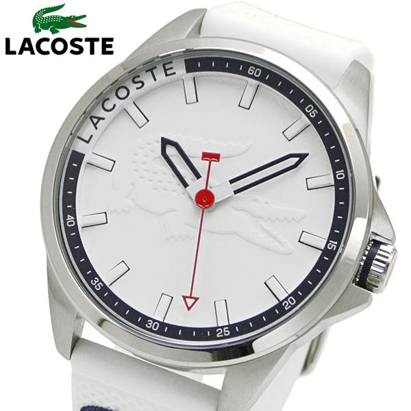 ラコステ LACOSTE 腕時計 メンズ 46mm ホワイト 2010841