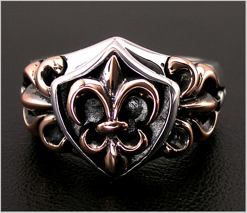Lord Camelot (road Camelot) silver ring LC-643