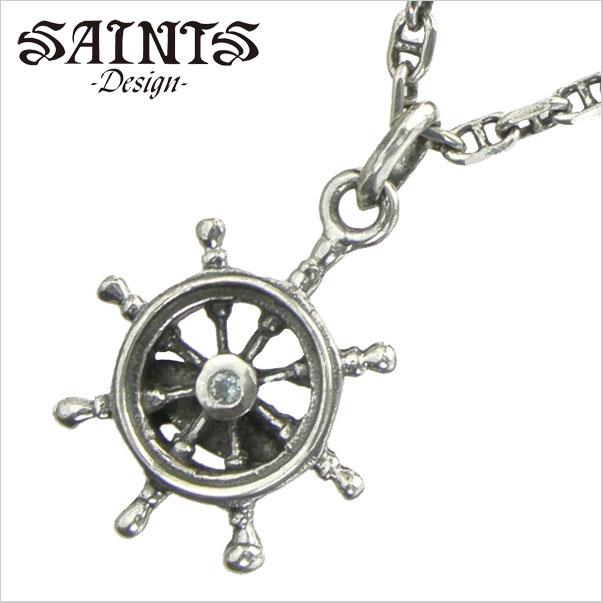 【SAINTS Design セインツ デザイン】 ラダーネックレス/ペンダント シルバー925製 セインツ SSP10-158