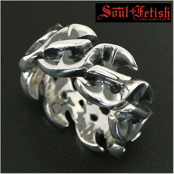 Soul Fetish(ソウルフェティッシュ) シルバーリング/指輪 R1019