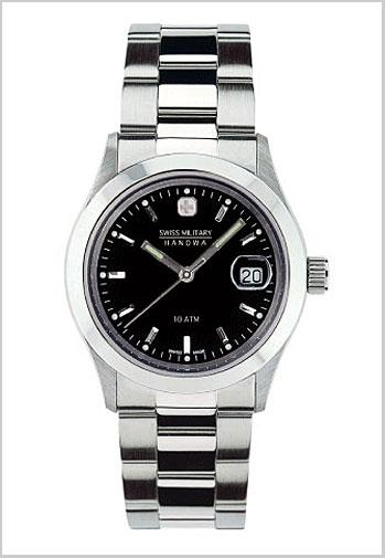 (regular article) 20%OFF ML -98 for SWISS MILITARY (the Swiss military) elegant black clockface / men