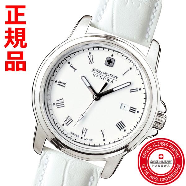 SWISS MILITARY スイスミリタリー 腕時計・ROMAN ローマン ホワイト文字盤 レディース ML-410