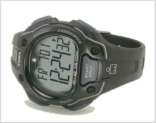 Watch Ironman 50 lap fullsize (mens size) black (genuine) T5K495/TIMEX (Timex)