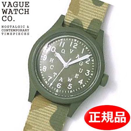 【クリーナープレゼント】【正規品】VAGUE WATCH Co. ヴァーグ ウォッチ カンパニー 腕時計 ミリタリー 替えバンド付 VAGUE WATCH GD-L-001