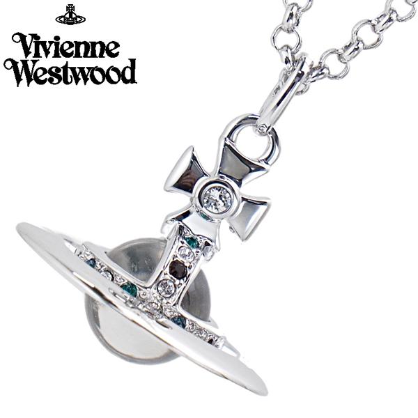 ヴィヴィアンウエストウッド Vivienne Westwood タイニー オーブ ペンダント ネックレス シルバー TINY ORB 752014B/1