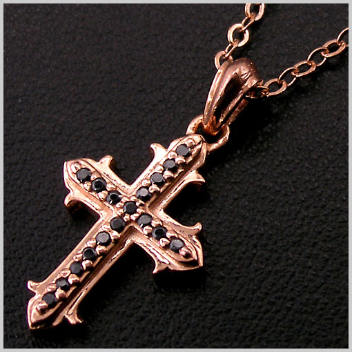 William Walles(ウィリアムウォレス) シルバーペンダント(ネックレス) Stone Crucifix WWP-14601LADY