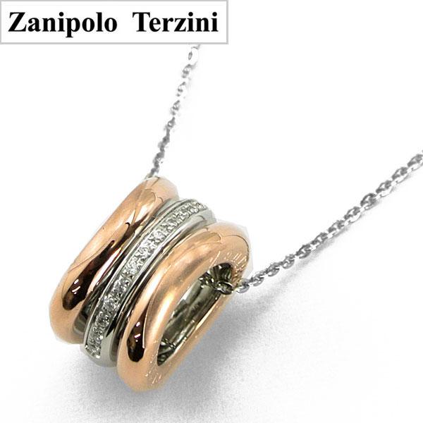 Zanipolo Terzini(ザニポロ・タルツィーニ)サージカルステンレス製ペンダント/ネックレス レディース SP-ZTP12506-RS【ザニポロ】【送料無料】