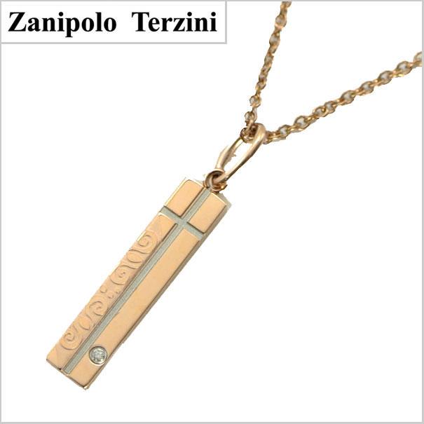 Zanipolo Terzini(ザニポロ・タルツィーニ)サージカルステンレス製ペンダント/ネックレス レディース・ダイヤモンド付 ZTP2242-RS【ザニポロ】【送料無料】