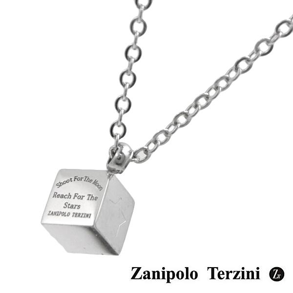 Zanipolo Terzini(ザニポロ・タルツィーニ)メッセージ ネックレス/ペンダント メンズ・レディース ユニセックス サージカルステンレス製 ZTP3810-SUS