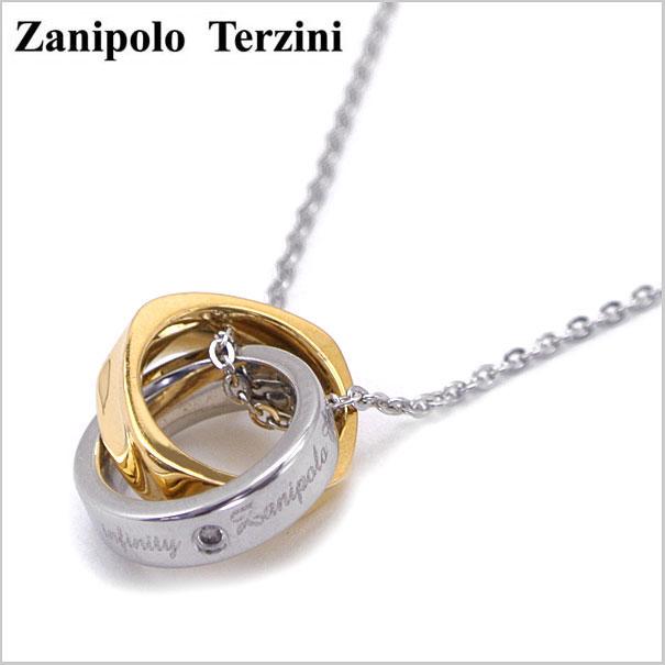 Zanipolo Terzini(ザニポロ・タルツィーニ)サージカルステンレス製 ペンダント/ネックレス レディース(チェーン付)ザニポロタルツィーニ ZTP479-LADY-GD【送料無料】