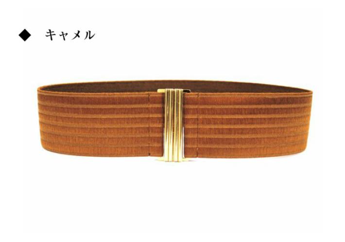 6e88afa5e ... Elastic Stretch Belt Made in Japan gold buckle belts / women's belt  belts / ladies belt ...