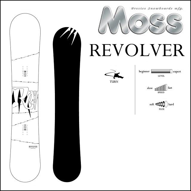 18-19 MOSS モス スノーボード REVOLVER リボルバー