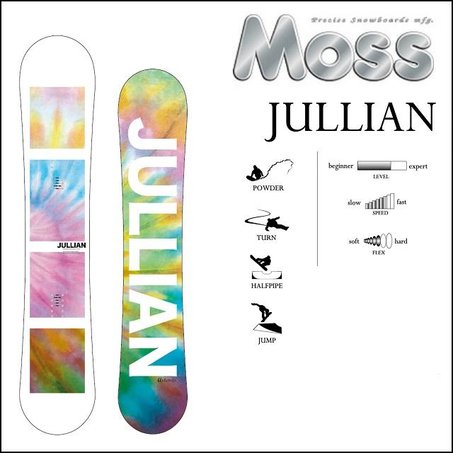 18-19 MOSS モス スノーボード JULLIAN ジュリアン