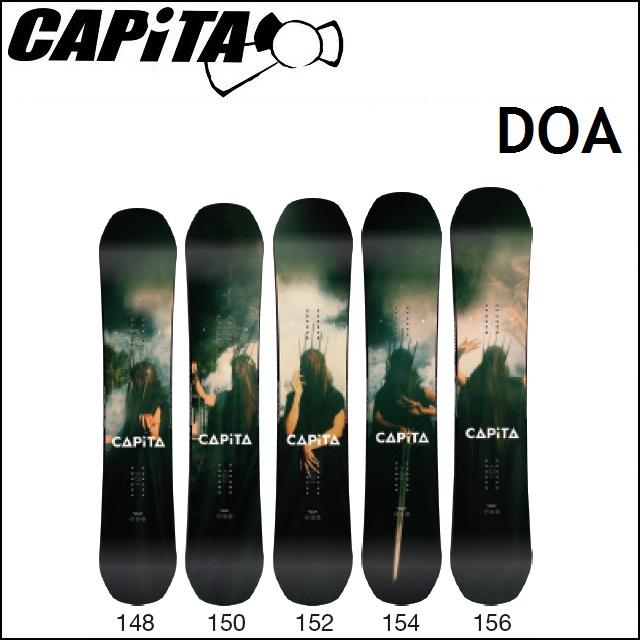 18-19 CAPiTA キャピタ スノーボード DOA ディオーエー (DEFENDERS OF AWESOME)