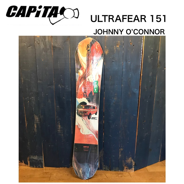 CAPiTA ULTRAFEAR JOHNNY O'CONNOR ウルトラフィア ジョニーオコナー スノーボード 板 メンズ 151 [レイトモデル] 日本正規品