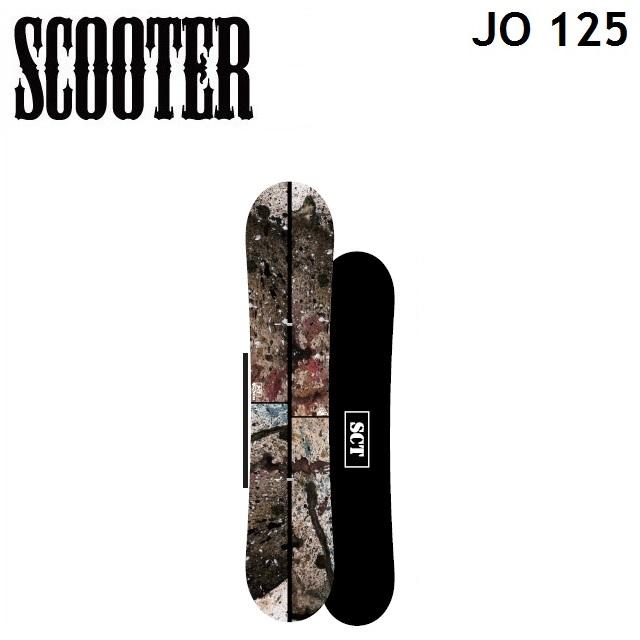 19-20 SCOOTER スクーター スノーボード JO ジョー 125cm キッズ