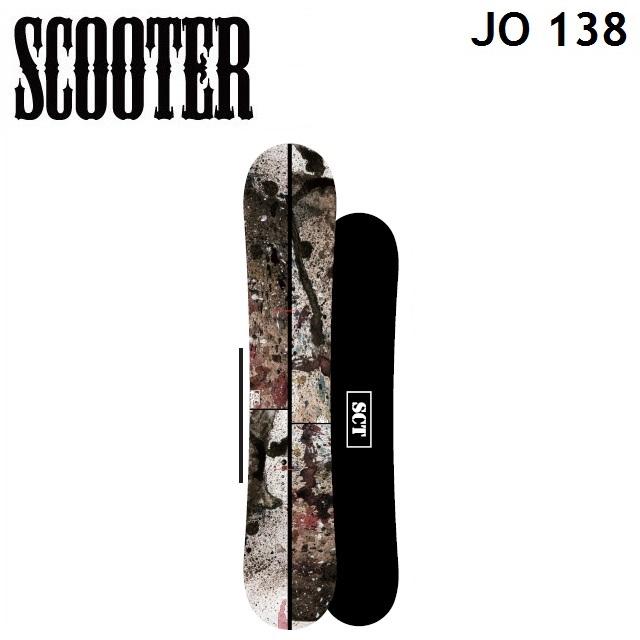19-20 SCOOTER スクーター スノーボード JO ジョー 138cm キッズ