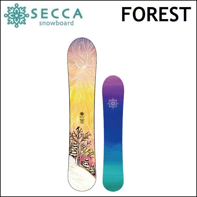 18-19 UNIT SECCA ユニット セッカ スノーボード FOREST フォレスト レディース