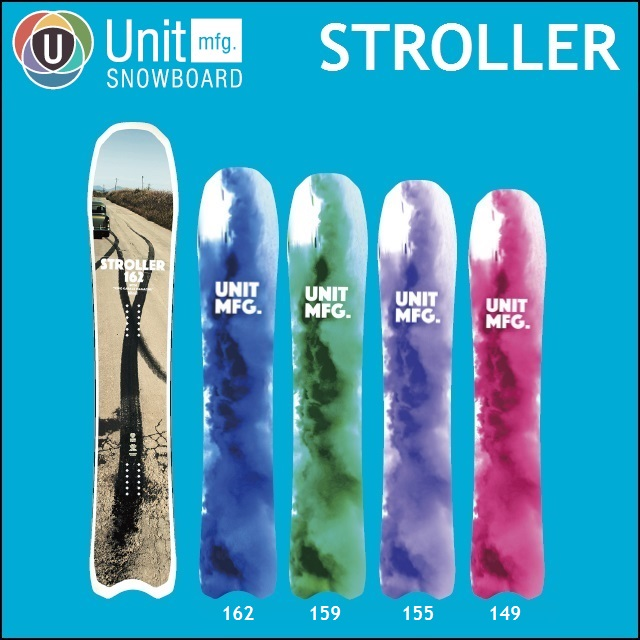 18-19 UNIT ユニット スノーボード STROLLER ストローラー