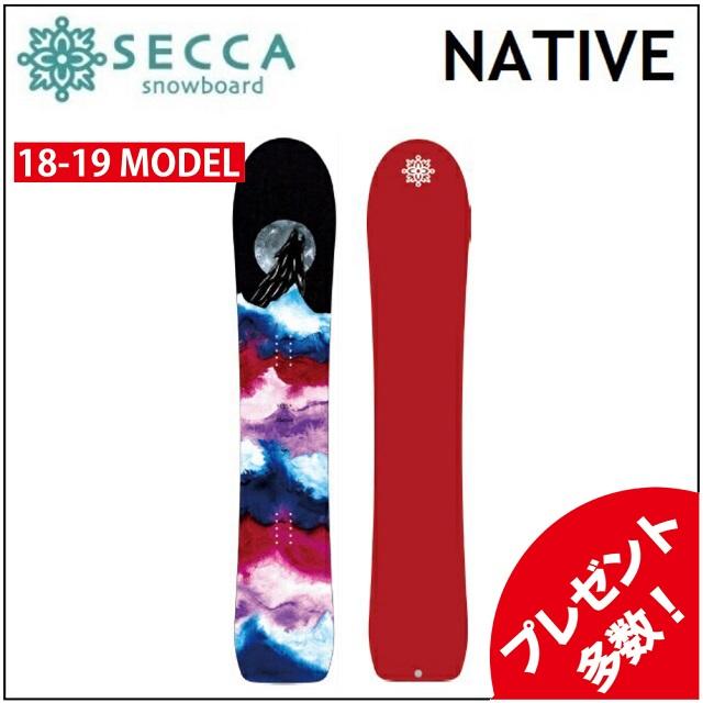 18-19 UNIT SECCA ユニット セッカ スノーボード NATIVE ネイティブ レディース