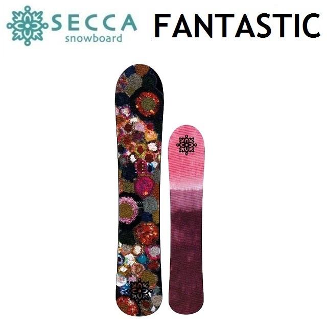 18-19 UNIT SECCA ユニット セッカ スノーボード FANTASTIC ファンタスティック レディース