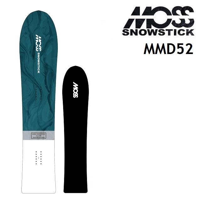 [最大3000円クーポン配布中] 19-20 MOSS SNOWSTICK モス スノースティック スノーボード MMD マーメイド 152cm