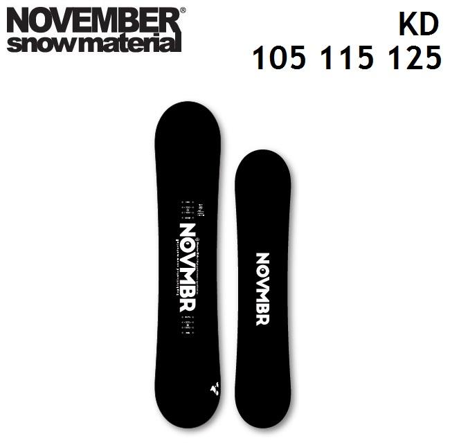 19-20 NOVEMBER ノベンバー スノーボード KD ケーディー 105、115、125cm キッズ