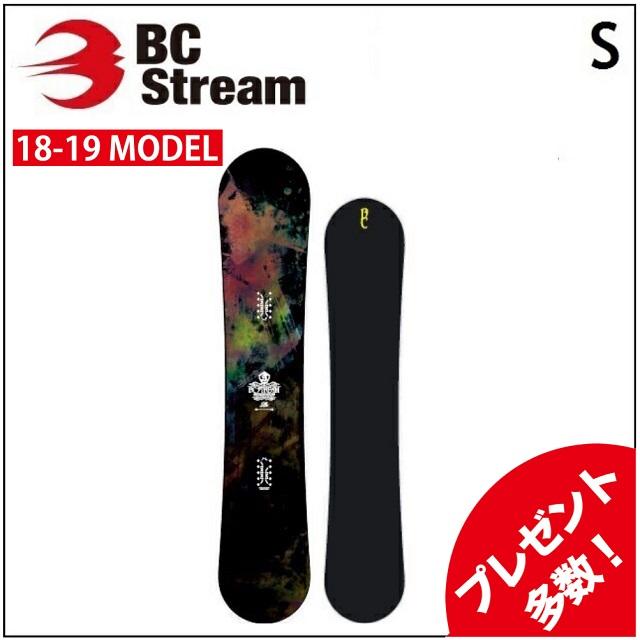 18-19 BC STREAM ビーシーストリーム スノーボード S エス