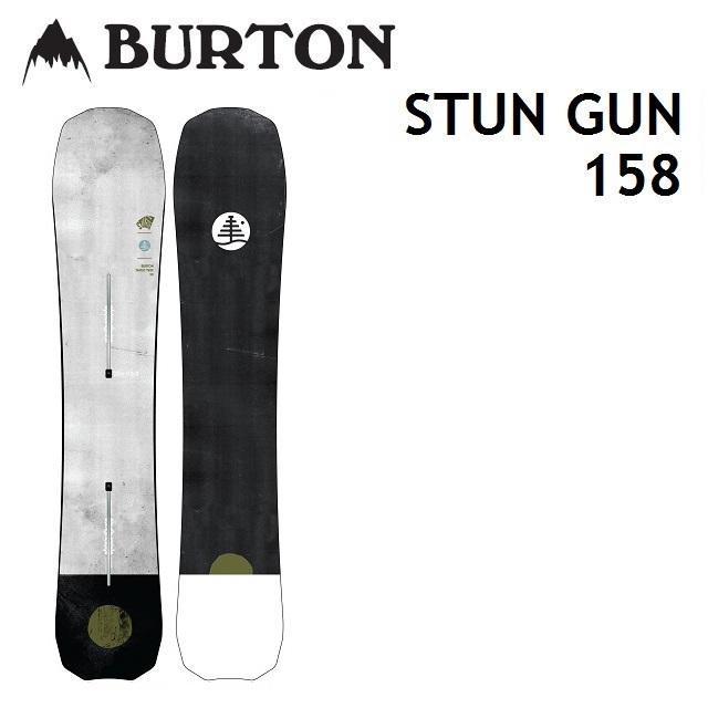 [最大3000円クーポン配布中] 18-19 BURTON バートン スノーボード STUN GUN スタンガン 158cm 【正規保証書付】