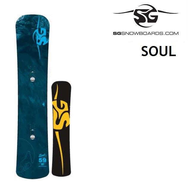[最大3000円クーポン配布中] 19-20 SG SNOWBOARDS エスジー スノーボード SOUL ソウル