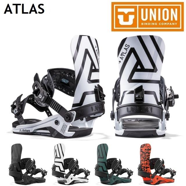 2021-2022 UNION ATLAS ユニオン  21-22 UNION ATLAS ユニオン アトラス ビンディング バインディング スノーボード メンズ 日本正規品