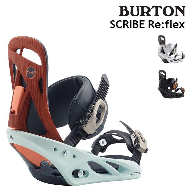 19-20 BURTON SCRIBE Re:Flex バートン スクライブ ビンディング バインディング スノーボード レディース 日本正規品