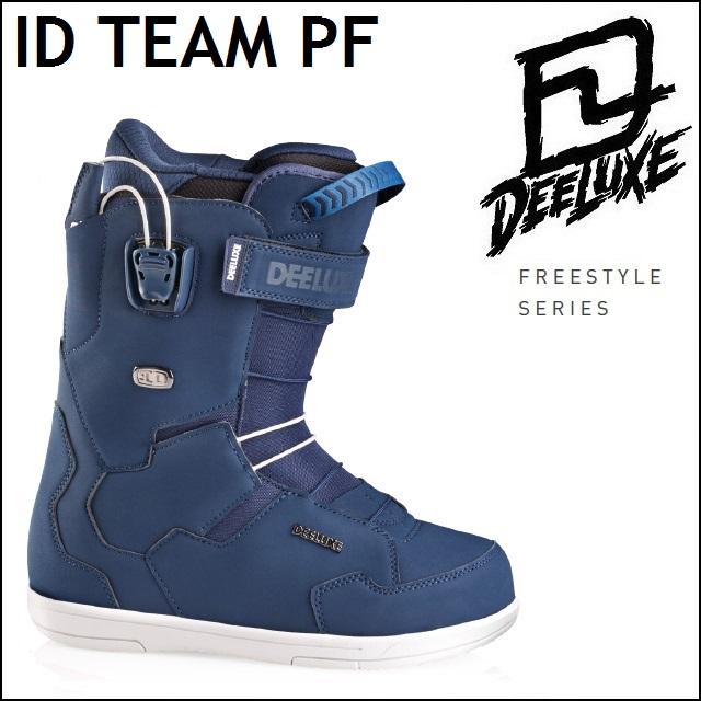 18-19 DEELUXE ディーラックス ブーツ ID TEAM PF アイディー チーム ノーマルインナー 成型なし