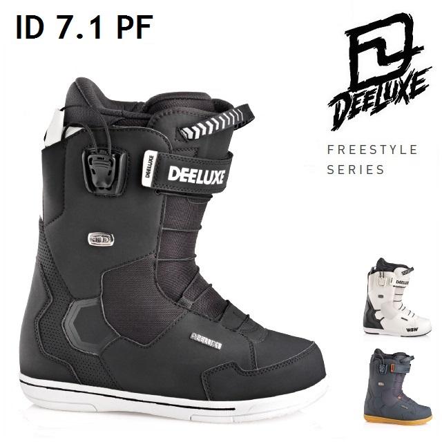 [最大3000円クーポン配布中] 18-19 DEELUXE ディーラックス ブーツ ID 7.1 PF アイディー ノーマルインナー 成型なし