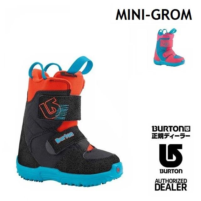 BURTON バートン ブーツ MINI GROM ミニグロム キッズ 【正規保証書付】