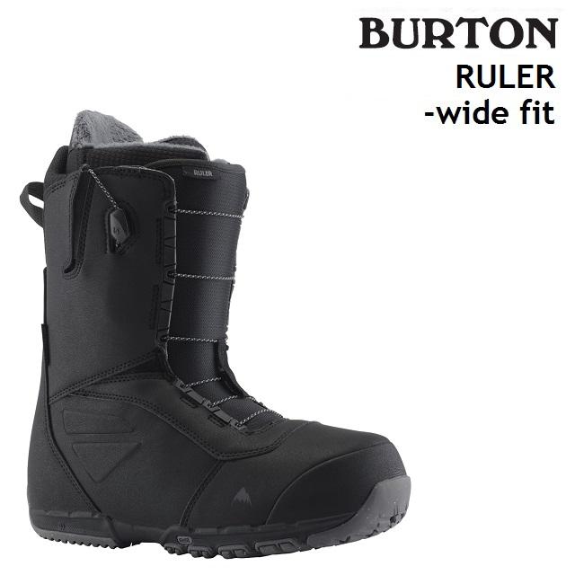 19-20 BURTON RULER WIDE FIT バートン ルーラー ワイドフィット ブーツ スノーボード メンズ 日本正規品