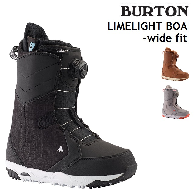 19-20 BURTON LIMELIGHT BOA WIDE FIT バートン ライムライト ボア ワイドフィット ブーツ スノーボード レディース 日本正規品