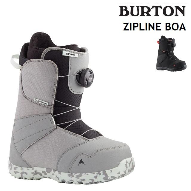スピード対応 全国送料無料 2021-2022 BURTON バートン クリアランスsale!期間限定! 21-22 ZIPLINE BOA ブーツ ボア ジップライン キッズ 日本正規品 スノーボード