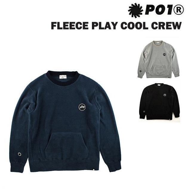 [最大3000円クーポン配布中] P01 プレイ フリース FLEECE PLAY COOL CREW PLAYDESIGN プレイデザイン