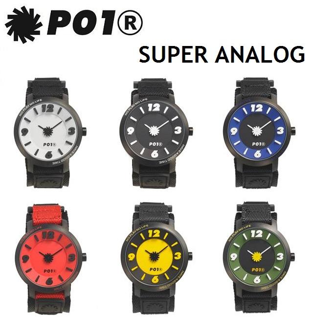 [最大3000円クーポン配布中] P01 時計 PLAY TIME(プレイ タイム)TECHNICAL WATCH(テクニカル ウオッチ) プレイ 時計 1ST ANALOG 全6色