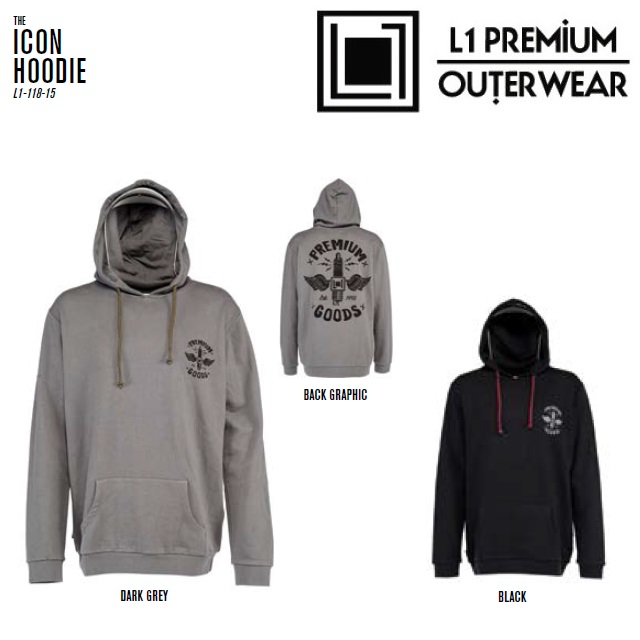 L1 エルワン フード ICON HOODIE