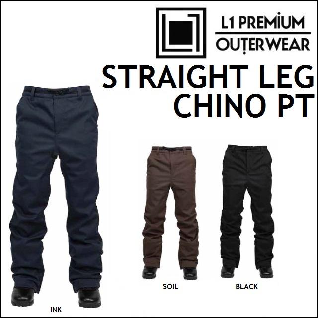 17-18 L1 エルワン ウエア STRAIGHT LEG CHINO PANTS ストレート レッグ チノ パンツ
