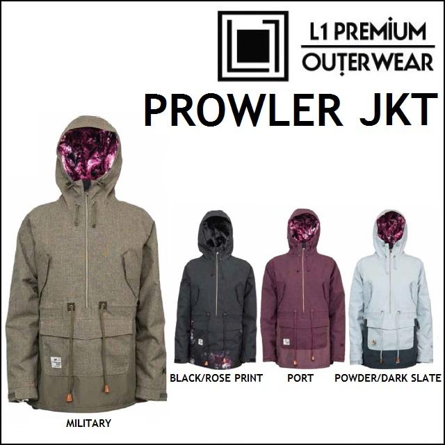 17-18 L1 エルワン ウエア PROWLER JACKET プローラ ジャケット L1TA リタ レディース