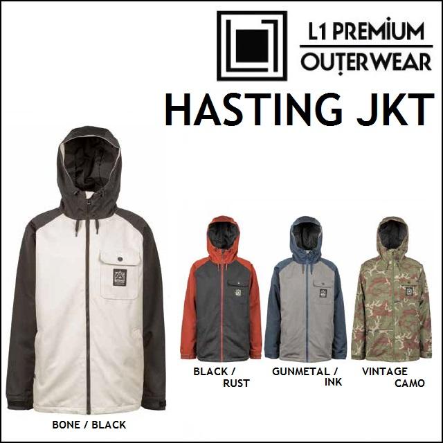 18-19 L1 エルワン ウエア HASTING JACKET ハスティング ジャケット