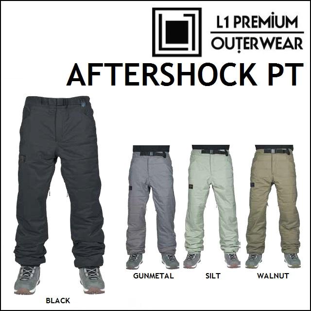 18-19 L1 エルワン ウエア AFTERSHOCK PANTS アフターショック パンツ