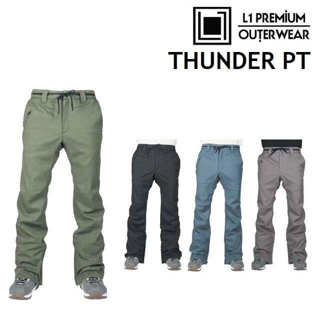 18-19 L1 エルワン ウエア THUNDER PANTS サンダー パンツ 日本正規品